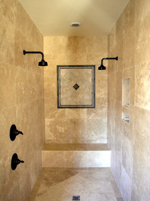 Design showcase for Master bath tile design ideas